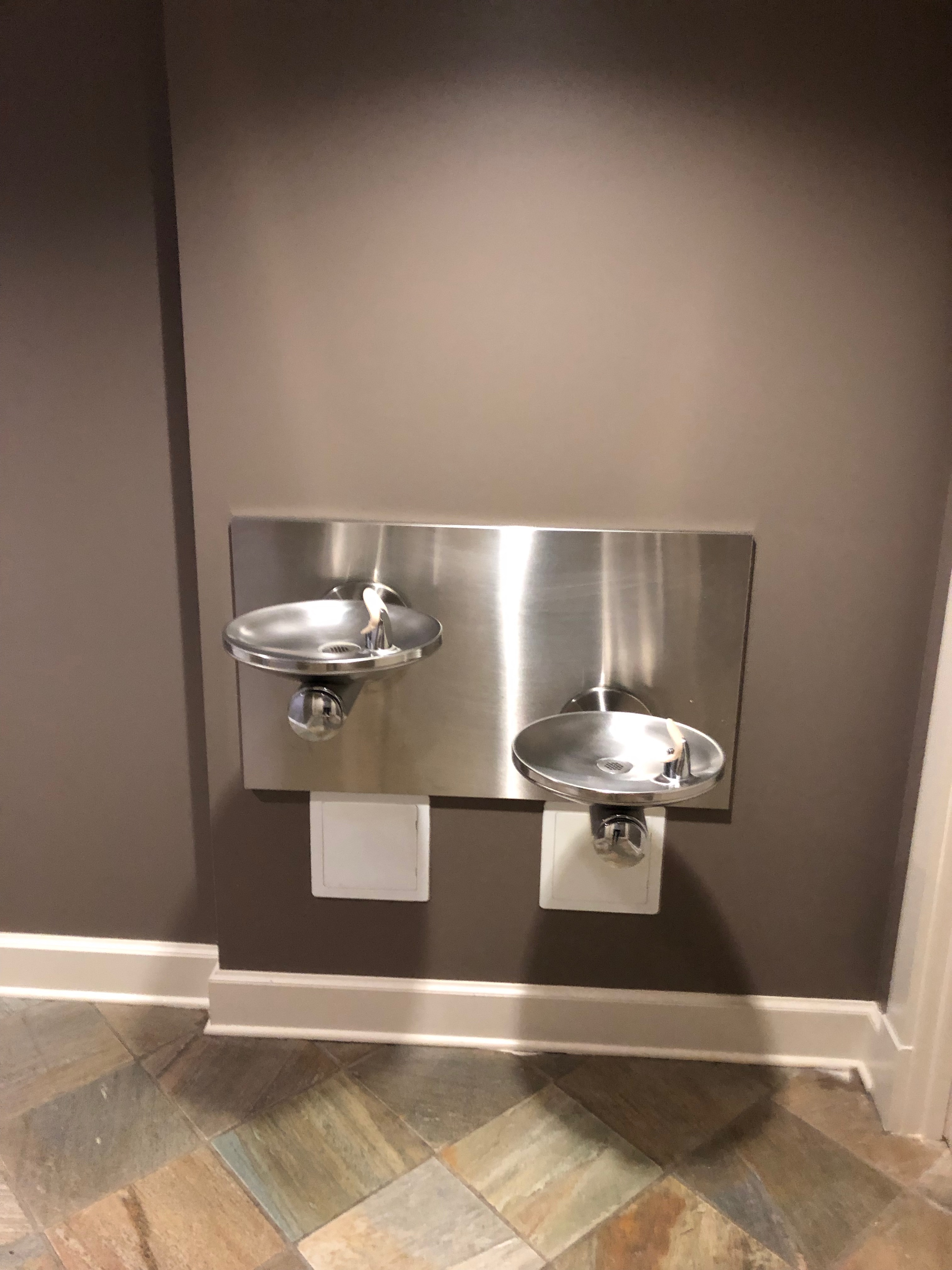 accessible drinking fountain