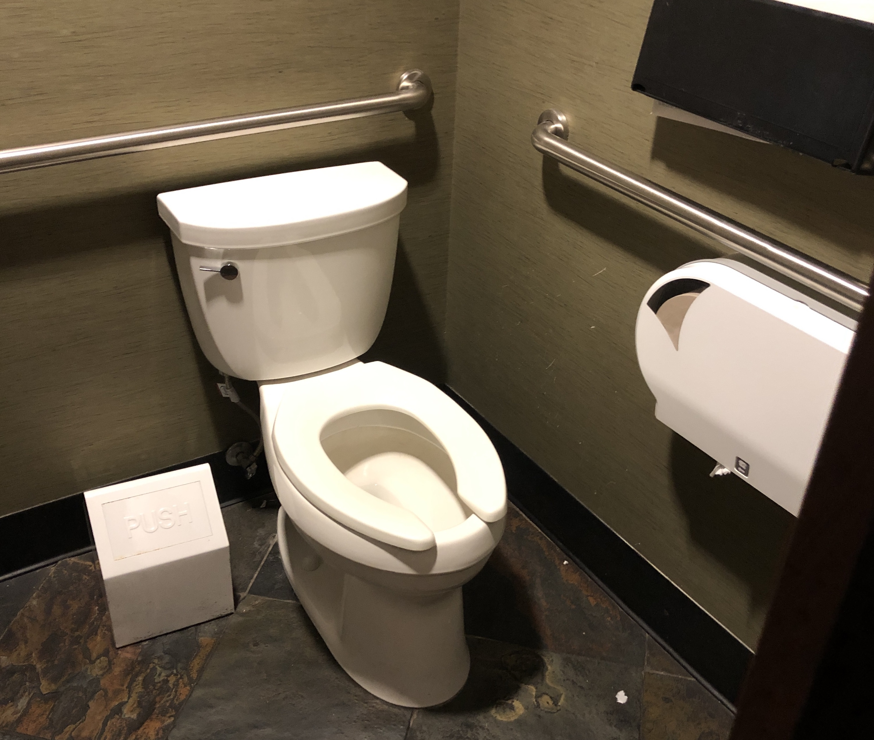 Women's accessible toilet